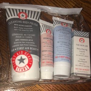 First Aid Beauty starter kit